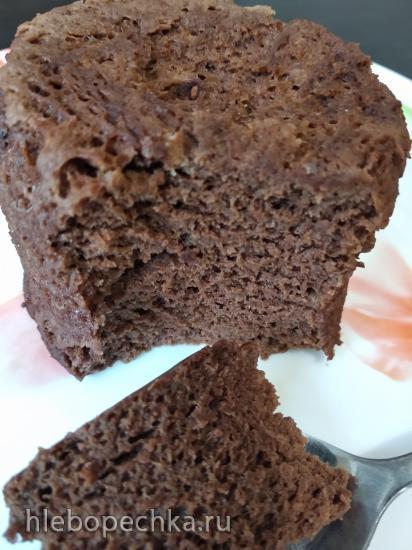 Шоколадный магкейк (без муки) в микроволновой печи