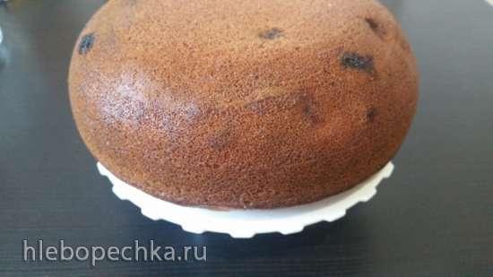 Кукурузный пирог с крыжовником (мультиварка Redmond RMC-02)