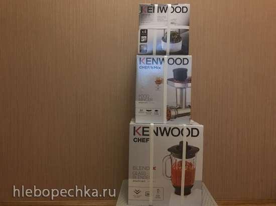 Продам новые насадки для км Kenwood: мясорубка, блендер, мультиизмельчитель