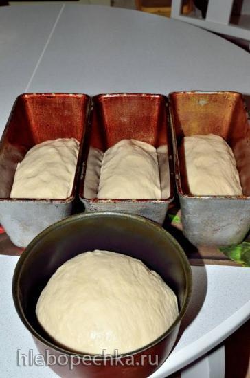 Пшеничный на Вечной закваске картофельной (безмучной)