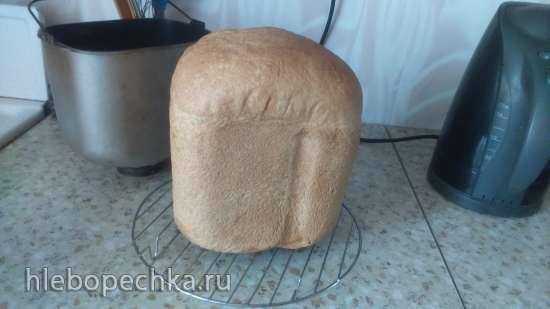 Panasonic SD-255. Белый молочный хлеб на опаре