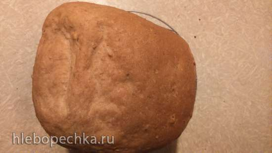 """Хлеб """"С миру по нитке"""" в хлебопечке Панасоник."""