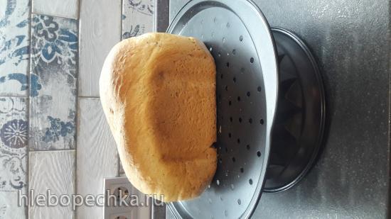 Быстрый белый хлеб (хлебопечка)