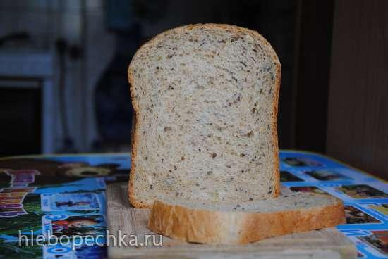 Хлеб из смеси «5 Злаков» (хлебопечка)