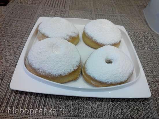 Пончики в духовке а-ля Донатсы
