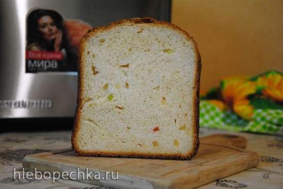 Brand 3801. Сладкая булка в хлебопечке