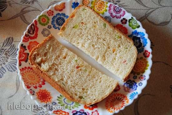 Хлеб «С миру по нитке» в хлебопечке Панасоник