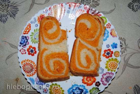 Хлеб « Рыжая завитушка » (хлебопечка)