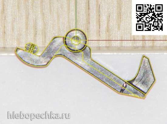 Улучшение - железная защёлка диспенсера на 3D принтере.
