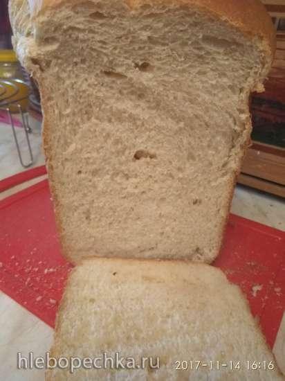 Венский хлеб от Ришара Бертине в хлебопечке