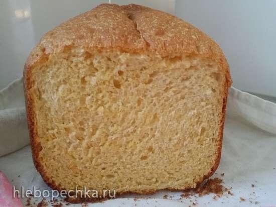 Быстрый хлеб с кукурузной крупой Полента в хлебопечке Panasonic SD-2500