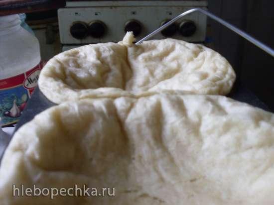 Почему хлеб получился с белой корочкой?