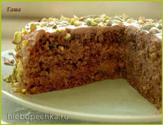 Торт-пирог ореховый без муки