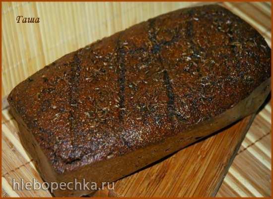 Пряный латвийский хлеб по ГОСТу