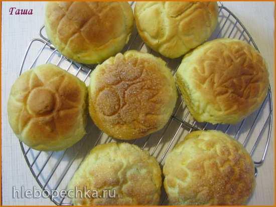 Булочки  японские дынные Melon Pan