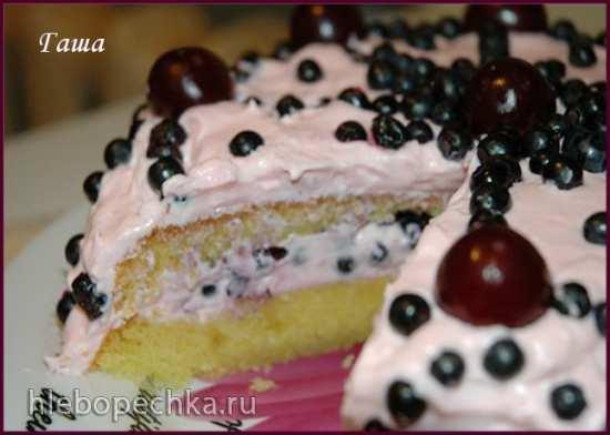 Торт Ягодный сезон
