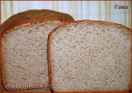 """Ржаной хлеб """"Без ничего"""" (духовка, хлебопечка, мультиварка)"""