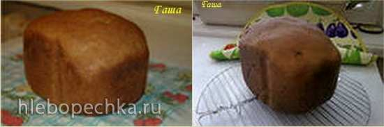 Дарницкий хлеб для мужа (хлебопечка)
