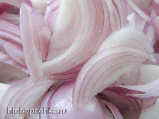 Свинина с овощами по-японски