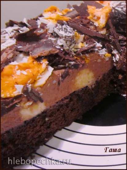 Торт шоколадный Разноцветный