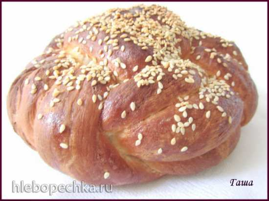 Хлеб на заварном креме (духовка)