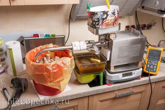 Использование жмыха после отжима льняного масла на домашнем маслопрессе