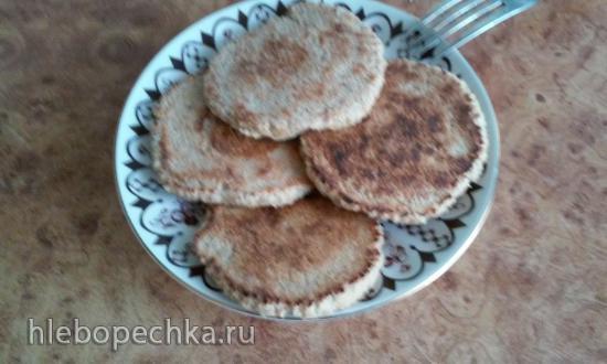 Овсяноблин с яблоком (быстрый и полезный завтрак)