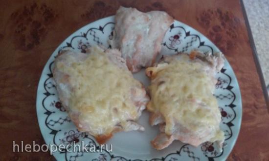Куриные шашлычки в духовке (с китайским способом сохрания сочности мяса)