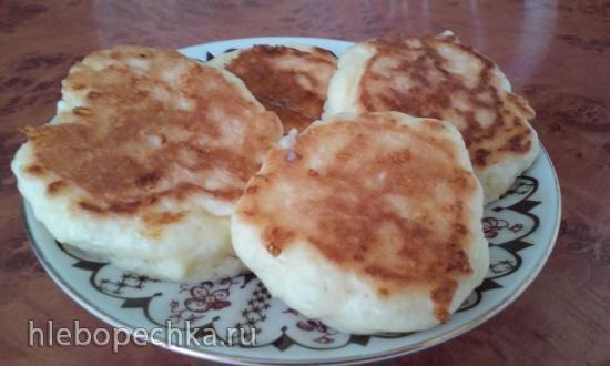 Сырные оладьи к завтраку