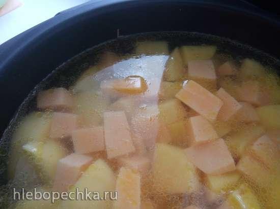 Грибной суп-пюре (мультиварка Redmond RMС-IH300)