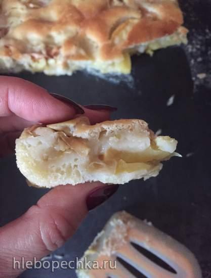 Тесто наливное дрожжевое