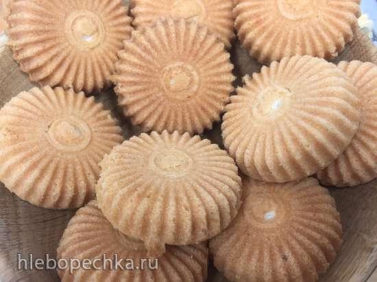 Рассыпчатые песочные толстые вафли