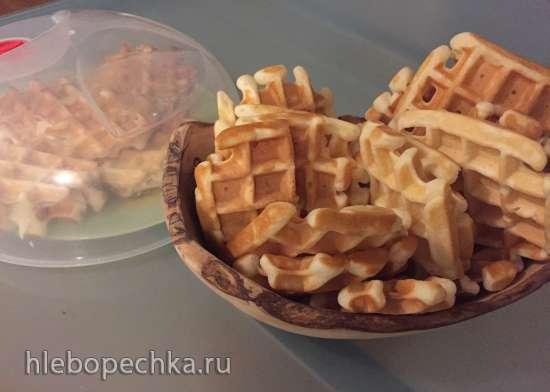 Толстые вафли в мультипекаре Redmond: МП6 vs МП7.