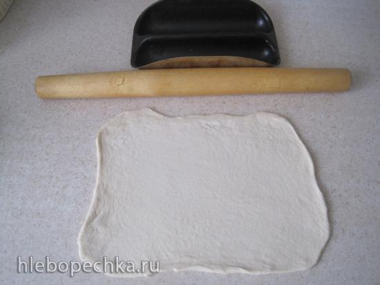 Мини Багеты из холодного теста в духовке