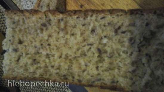"""Шведский ночной хлеб """"Ленивка"""" (без замеса)"""