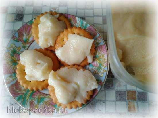 Творожный маложирный плавленный сыр (в микроволновке)