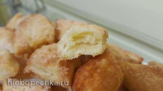 Печенье слоеное (из ложного слоеного теста)
