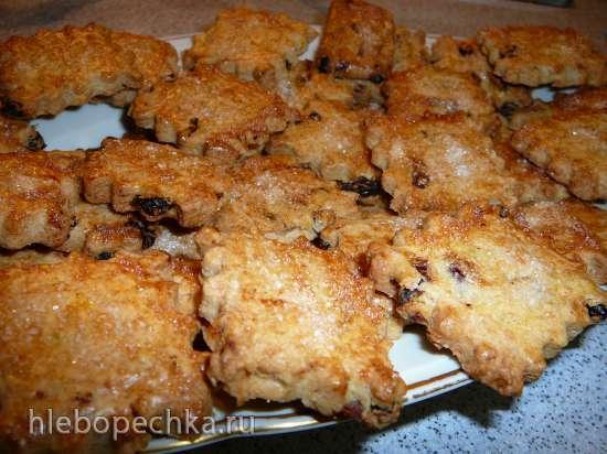 Английское пасхальное печенье