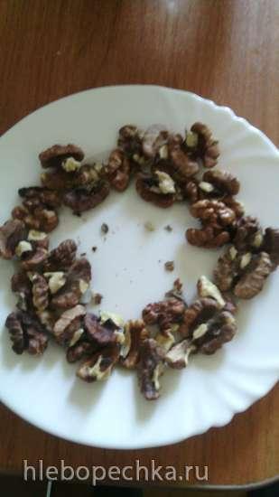 Экспресс-очистка грецких орехов от шелухи