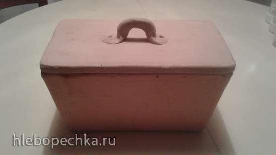 Керамическая форма для хлеба  имеет запах, как его убрать