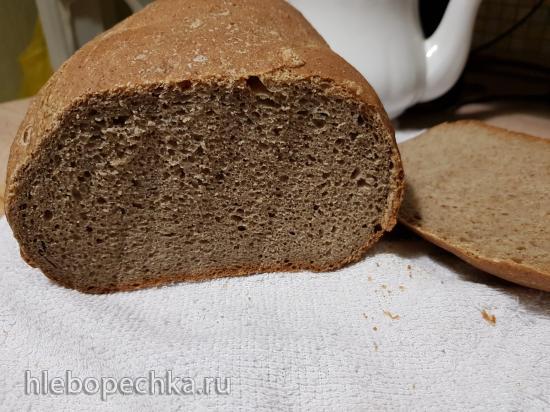 Хлеб пшеничный с льняной мукой в хлебопечке