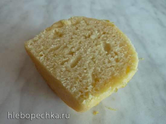 Лимонные кексы с мёдом