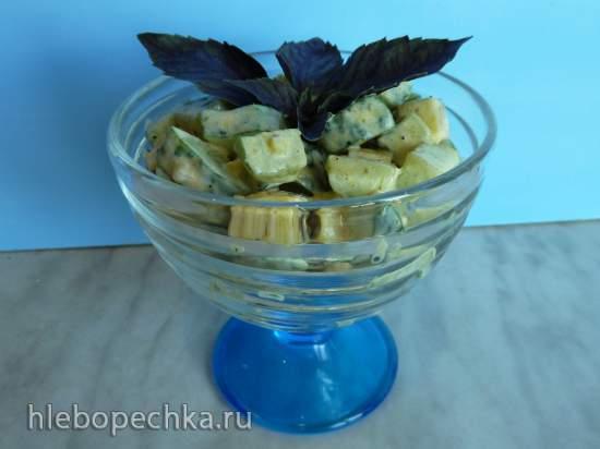 Огуречно-сырный салат