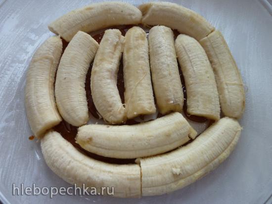 Банановый постный пирог