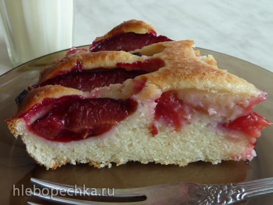 Сливовый пирог из Тосканы