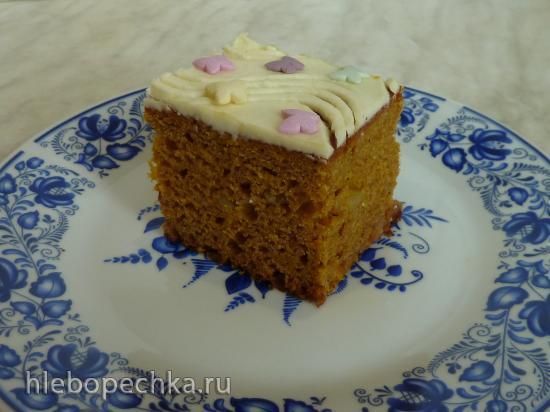 Пирожные из тыквы со сливочным кремом