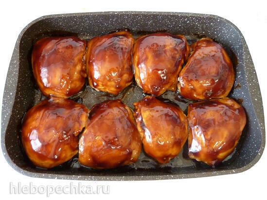 Куриные бёдра под соусом Терияки
