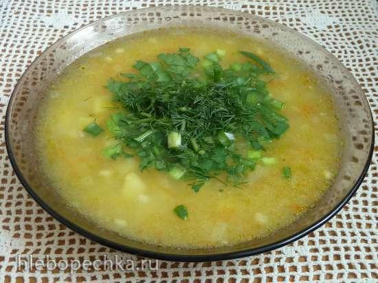 Постный солнечный суп
