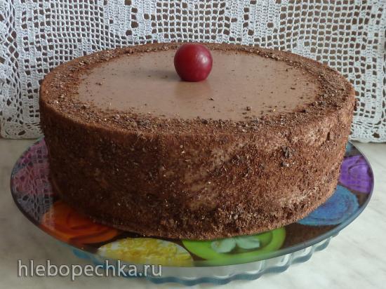 Торт Шоколад с ароматом банана