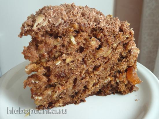 Тыквенный пирог с овсяным штрейзелем